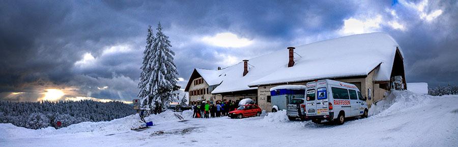 Restaurant Untergrenchenberg - Haus im Schnee