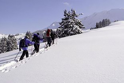 Restaurant Untergrenchenberg - Schneeschuhlaufen